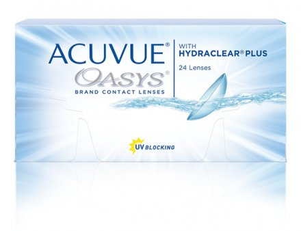 ACUVUE® OASYS Brand with HYDRACLEAR® PLUS Technology